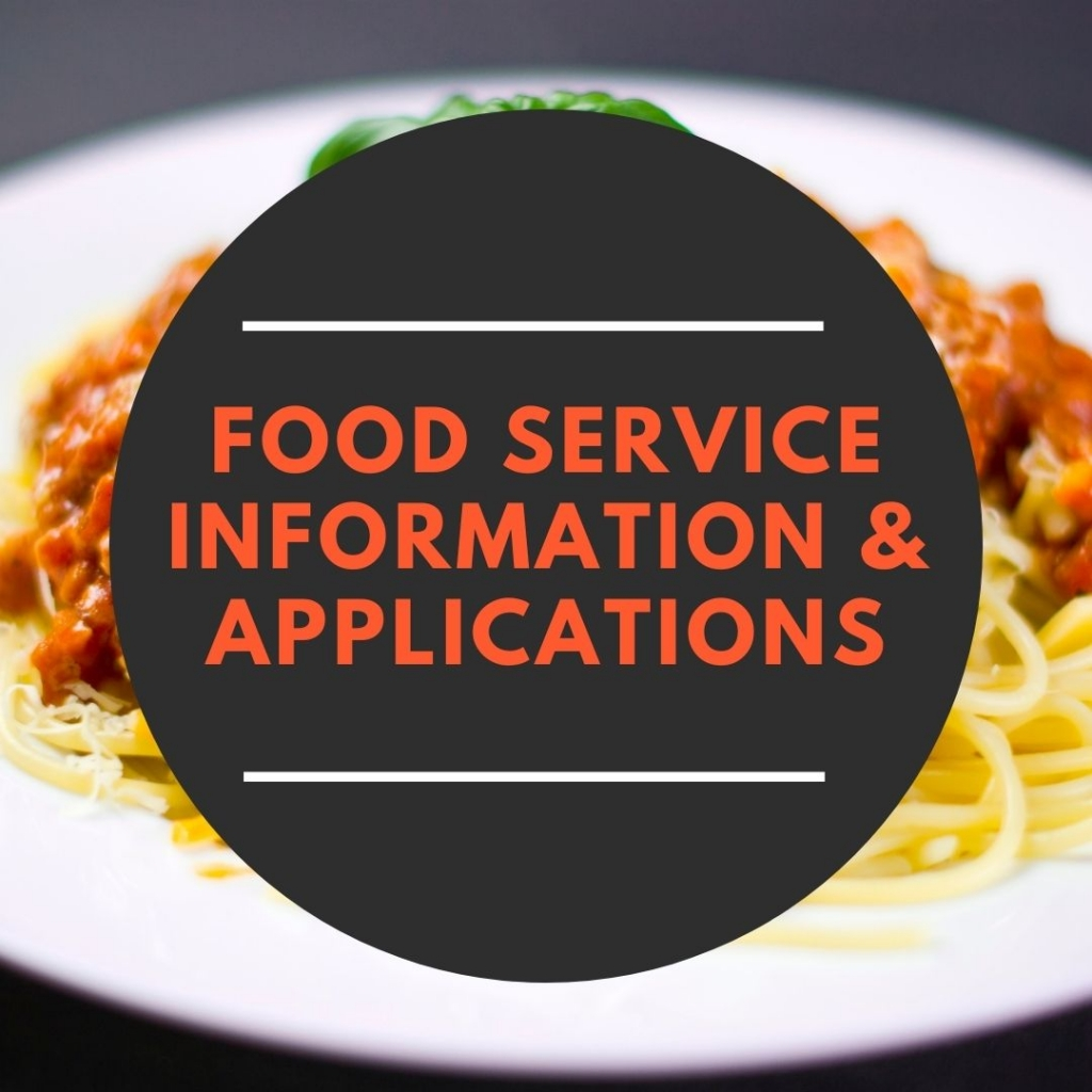 Food Service Info & Applications