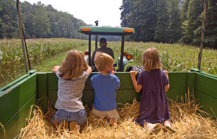 Wicomico County Health Department - Tractor Ride