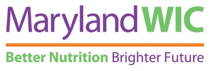 Maryland WIC - Better Nutrion - Brighter Future