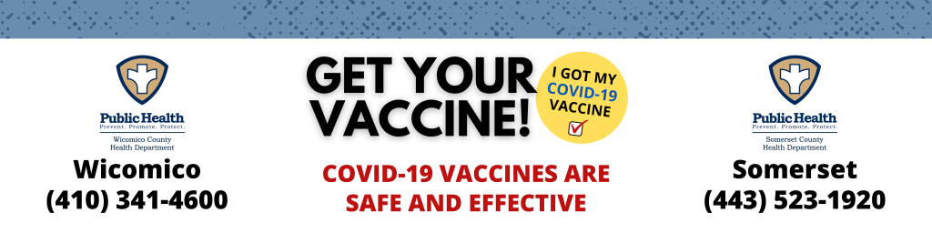 Get your Vaccine! Click here to register!