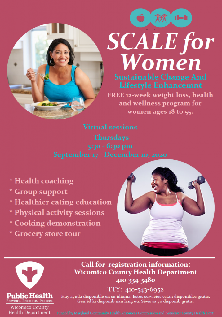 SCALE for Women Sustainable Change and Lifestyle Enhancement class